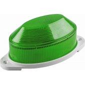 Cветильник-вспышка (стробы), 18LED 1,3W, зеленый STLB01; 29897