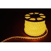 Дюралайт светодиодный LED-F3W 3-х жильный , желтый, 2,88Вт/м 72LED/м 50м 220V; 26068