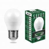 Лампа светодиодная SBG4507 Шарик E27 7W 6400K; 55124