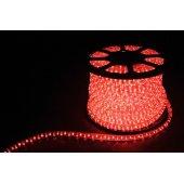 Дюралайт светодиодный LED-F3W 3-х жильный , красный 2,88Вт/м 72LED/м 50м 220V; 26067