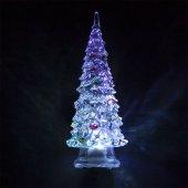 Световая фигура, прозрачный пластик, 1LED RGB, 3xAG13, 140мм, LT130; 32379