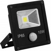 Светодиодный прожектор с встроенным датчиком LL-860 IP65 10W 6400K; 12999