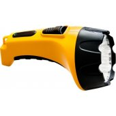 12653; Фонарь аккумуляторный, 15 LED DC (свинцово-кислотная батарея), желтый, TH2295 (TH93C)