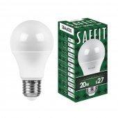 Лампа светодиодная SBA6020 Шар E27 20W 4000K; 55014