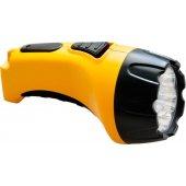 12652; Фонарь аккумуляторный, 7 LED DC (свинцово-кислотная батарея), желтый, TH2294 (TH93B)