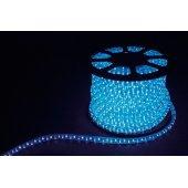 Дюралайт светодиодный LED-F3W 3-х жильный , синий 2,88Вт/м 72LED/м 50м 220V; 26071