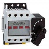 Выключатель-разъединитель Vistop 32А 4P рукоятка спереди с рукояткой чёрного цвета; 022502