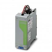 2866417; Энергоаккумулятор, свинцовый с технологией AGM, технология VRLA, 24 B DC, 1.2 А ч. MINI-BAT/24DC/1.3AH
