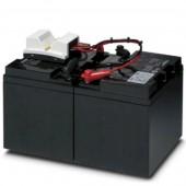 2320335; Энергоаккумулятор, свинцово-кислотный, технология VRLA, 24 В DC, 38 А-ч UPS-BAT/VRLA/24DC/38AH