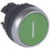 023811; Кнопка с пружинным возвратом ∅ 22,3 Osmoz для компл. пот. головка с защ. колпачком без подсв. IP67 красный
