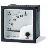 Амперметр пост.тока без шкалы AMT2-A2/72,вкл. через шунт 60 мВ; 2CSG422270R4001 (16074897)