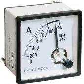 IPA20-6-0600-E; Амперметр Э47 600/5А класс точности 1.5 96х96мм