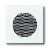 Плата центральная (накладка) для громкоговорителя 8223 U, серия Basic 55, цвет альпийский белый; 2CKA008200A0170