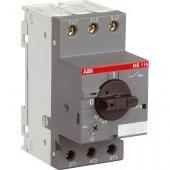 MS116-10.0 50kA Автоматический выключатель для защиты электродвигателей 6.3А-10А 50kA; 1SAM250000R1010