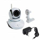 45-0275; Беспроводная поворотная камера WiFi Smart 1.0Мп, (720P), объектив 3.6 мм., ИК 10 м