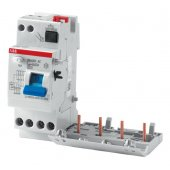 2CSB204001R1250; DDA204 AC-25/0,03 Дифференциальный модуль 4P 25A 30mA, тип АC