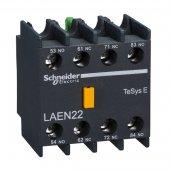 EasyPact TVS TeSys E Контактный блок дополнительный 2НО+2НЗ; LAEN22