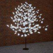 """531-515; Светодиодное дерево """"Клён"""", высота 2.1м, диаметр кроны 1.8м, белые светодиоды, IP65, понижающий трансформатор в комплекте,"""