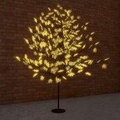"""531-511; Светодиодное дерево """"Клён"""", высота 2.1м, диаметр кроны 1.8м, желтые светодиоды, IP65, понижающий трансформатор в комплекте,"""