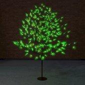 """531-514; Светодиодное дерево """"Клён"""", высота 2.1м, диаметр кроны 1.8м, зеленые светодиоды, IP65, понижающий трансформатор в комплекте,"""