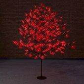 """531-512; Светодиодное дерево """"Клён"""", высота 2.1м, диаметр кроны 1.8м, красные светодиоды, IP65, понижающий трансформатор в комплекте,"""