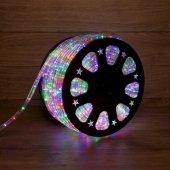 121-329-4; Дюралайт LED, свечение с динамикой (3W) - мульти (RYGB), 24 LED/м, бухта 100м