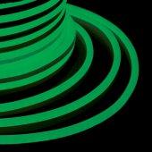 131-014; Гибкий Неон DIP 12x26мм - зеленый, бухта 50м