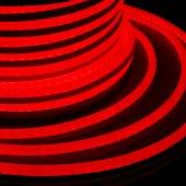 131-012; Гибкий Неон DIP 12x26мм - красный, бухта 50м