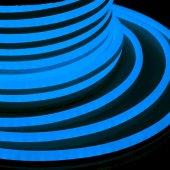 131-013; Гибкий Неон DIP 12x26мм - синий, бухта 50м