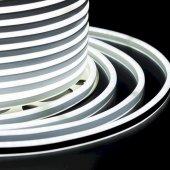 131-065; Гибкий Неон LED SMD, компактный 7х12мм, двухсторонний, белый, 120 LED/м, бухта 100м