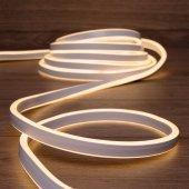 131-006; Гибкий неон LED SMD 8х16 мм, двухсторонний, теплый белый, 120 LED/м, 5 м
