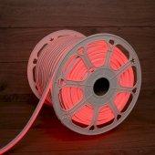 131-092; Гибкий неон LED SMD 8х16 мм, двухсторонний, красный, 120 LED/м, бухта 100 м