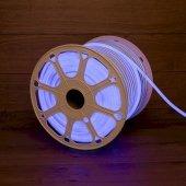 131-043; Гибкий неон LED SMD 8х16 мм, синий, 120 LED/м, бухта 100 м