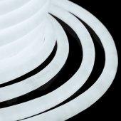 131-035; Гибкий Неон LED 360 (круглый) - белый, бухта 50м
