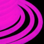 131-037; Гибкий Неон LED 360 (круглый) - розовый, бухта 50м