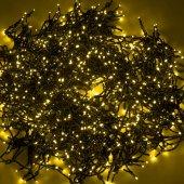 """323-501; Гирлянда """"LED ClipLight"""" 24V, 5 нитей по 20 метров, цвет диодов желтый"""