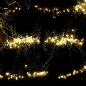 """323-606; Гирлянда """"LED ClipLight"""" 24V, 5 нитей по 20 метров, цвет диодов теплый белый, Flashing (белый)"""