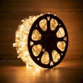 325-156; Гирлянда «LED Клип-лайт» 12 V, прозрачный ПВХ, 150 мм, цвет диодов теплый белый