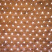 "215-135; Гирлянда ""Сеть"" 1.8х1.5м, прозрачный ПВХ, 180 LED Белые"