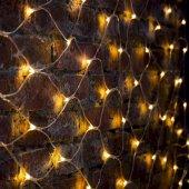 """215-046; Гирлянда """"Сеть"""" 2х1.5м, свечение с динамикой, прозрачный ПВХ, 288 LED, 230 В, цвет: теплый белый"""