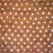 "215-125; Гирлянда ""Сеть"" 1.5х1.5м, прозрачный ПВХ, 150 LED Белые"