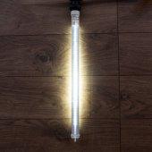 256-162; Сосулька светодиодная 50 см, 220V, e27, двухсторонняя, 48х2 диодов, цвет диодов белый