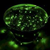 """303-137; Гирлянда """"Твинкл Лайт"""" 10 м, черный ПВХ, 100 диодов, цвет зеленый"""
