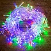 "303-189; Гирлянда ""Твинкл Лайт"" 10 м, прозрачный ПВХ, 80 LED, цвет Мультиколор"