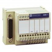 ABE7CPA410; Modicon Колодка для подключения 4-х изолированных аналоговых входа SUB-D25
