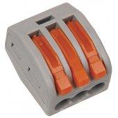 UKZ-001-413; Строительно-монтажная клемма СМК 222-413