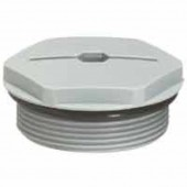 Концевая заглушка - IP68 для PE ISO 16 - RAL 7001; 098041