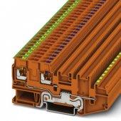 3244481; Клеммный модуль для подключения датчиков и исполнительных элементов PTIO-IN 2.5/4-PE OG