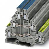 3214291; Клемма защитного провода UT 2.5-PE/L/N