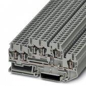 3038516; Двухъярусная пружинная клемма STTB 2.5-TWIN